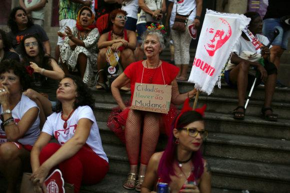 """""""Reuters""""/""""Scanpix"""" nuotr./Prasideda Rio de Žaneiro karnavalas"""