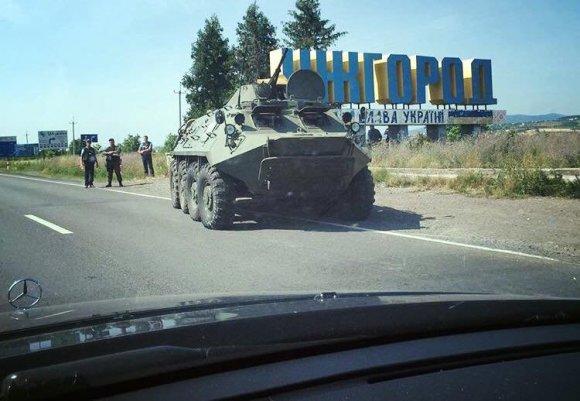 """Nuotr. iš """"Twitter""""/Ukrainos karinė technika"""