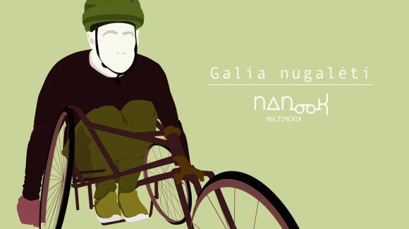 """Eglės Plytnikaitės iliustr./Iliustracija iš projekto """"Galia nugalėti"""""""