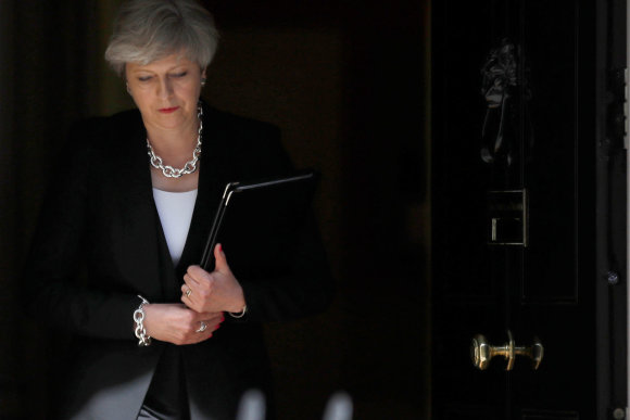 """Reuters""/""Scanpix"" nuotr./Theresa May"