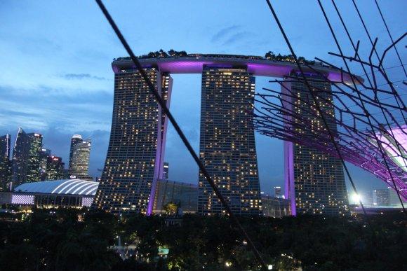 """Dominykos Grucytės nuotr./""""Marina Bay Sands"""""""