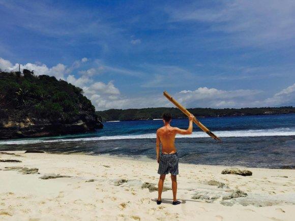 Asm.archyvo nuotr./Paplūdimys Nusa Ceningan