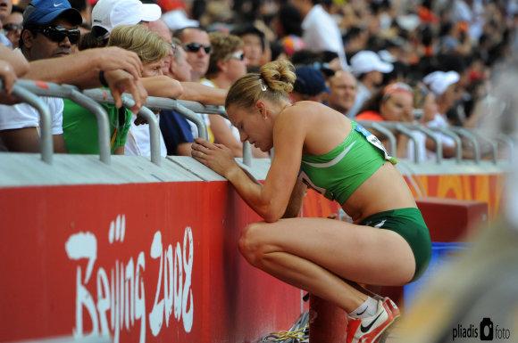 Alfredo Pliadžio nuotr./Austra Skujytė 2008 m. Pekino žaidynėse