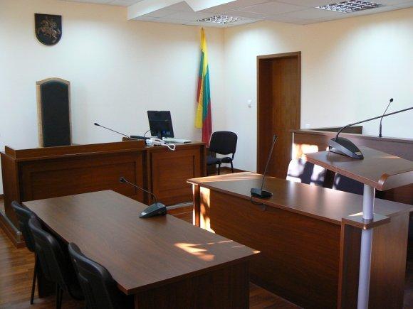 Trakų rajono apylinkės teismo nuotr./Teismo salė