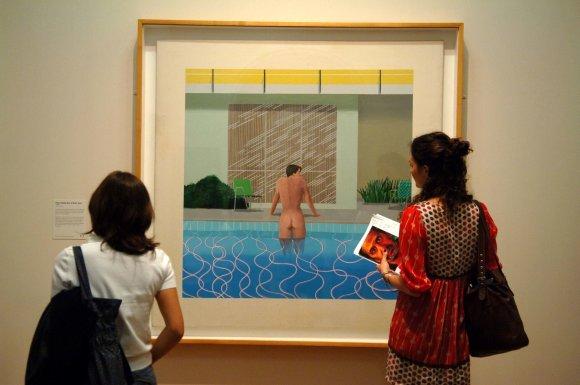 """Scanpix"" nuotr./Davido Hockney paveikslas"