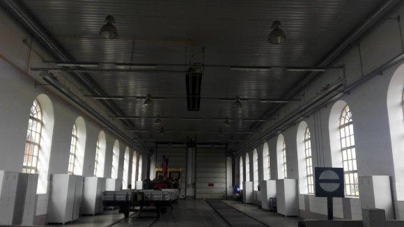 Organizatorių nuotr./Lentvario geležinkelio stoties erdvė