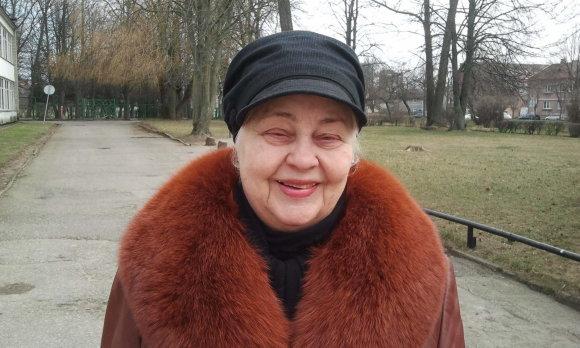 L. Sėlenienės nuotr./Klaipėdietė Natalija Žukienė