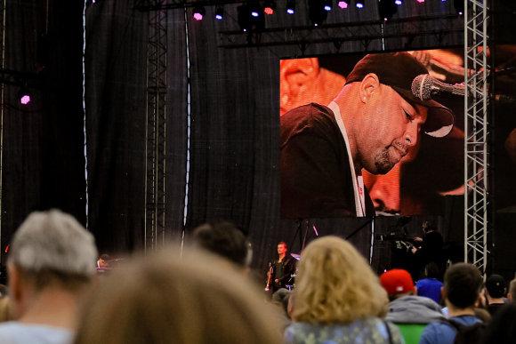 T. Pikturnos nuotr./Pilies džiazo festivalio akimirka