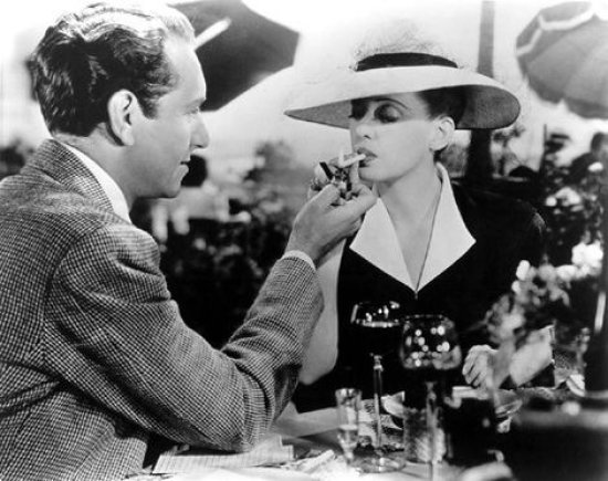 """Bette Davis"" filme ""Now, Voyager"""