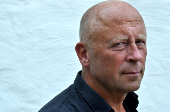 Rašytojas Peteris Stjernstromas / Peterio Rambergo nuotr.
