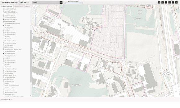 Visorių kvartalo detalusis planas