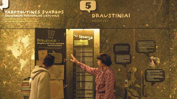 Saugomų teritorijų nacionalinis lankytojų centras/ G.Šluco nuotr.