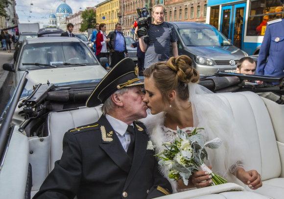 """Vida Press"" nuotr./Ivano Krasko ir Natalijos Ševel vestuvės"