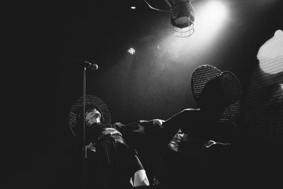 """Asmeninio albumo nuotr./""""Beissoul&Einius"""" pasirodymas Ukrainoje"""