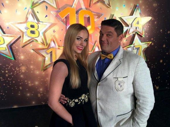 TV3 nuotr./Goda Alijeva ir Vitalijus Cololo
