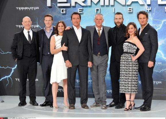 """""""Scanpix"""" nuotr./Filmo """"Terminatorius"""" kūrybinė komanda"""