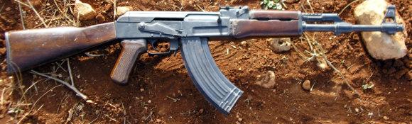"""""""Wikipedia"""" nuotr./Automatinis šautuvas AK-47"""