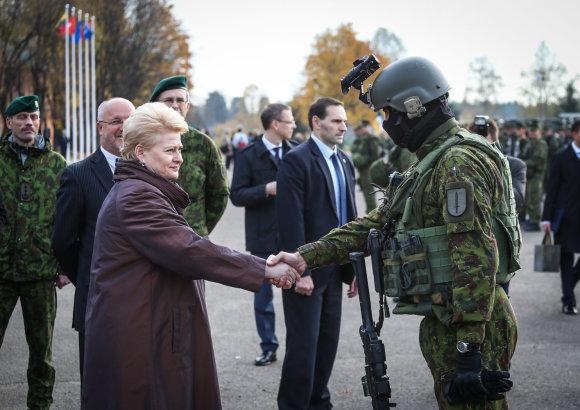 Ievos Budzeikaitės (KAM) nuotr./Specialiųjų operacijų pajėgų kariai taip pat yra Greitojo reagavimo pajėgoms.
