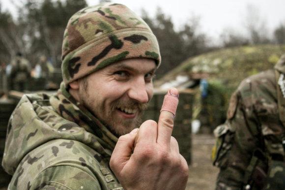 """D.Pancerovo nuotr./Saša siunčia """"linkėjimus"""" V.Putinui"""