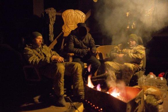 sobytiya.tv nuotr./Ukrainiečiai lietuvį vadino Nato (centre)
