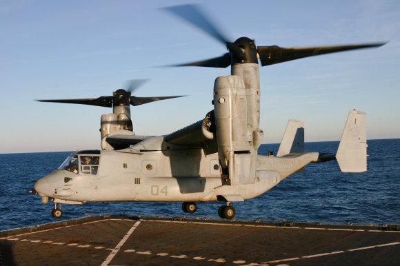 """Wikipedia"" nuotr./Konvertoplanas ""CV-22 Osprey"""