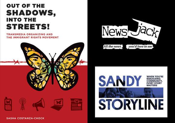 """Organizatoriš nuotr./Sasha Costanza-Chock knyga """"Iš šėšėlių į gatves"""" ir socialinių technologijų projektai """"News Jack"""" ir """"Sandy Storyline"""""""