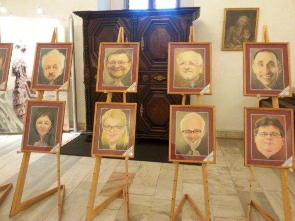 Karikatūristo Stefano Popa-Popa's paroda Taikomosios dailės muziejuje