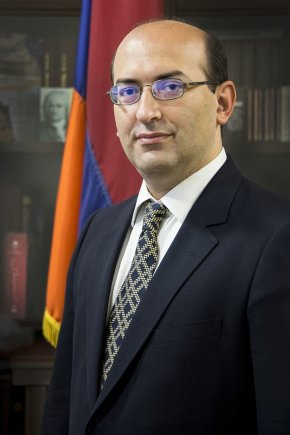 Organizatorių nuotr./Armenijos Respublikos ambasadorius Tigran Mkrtchyan