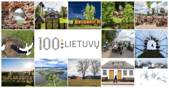 """Projektas """"100 Lietuvų""""."""