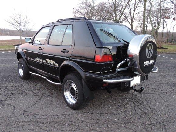 "eBay.com nuotr./""Volkswagen Golf Country Chrompaket"""