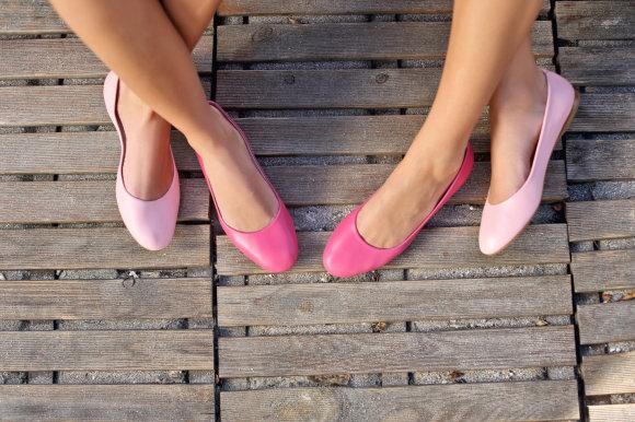 Shutterstock nuotr./Balerinos bateliai moterims