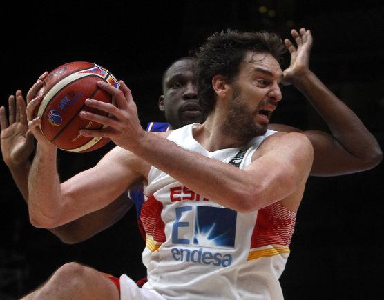 """Scanpix"" nuotr./Eurobasket 2015: Ispanija – Prancūzija"