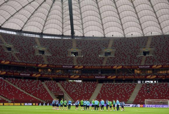 """Reuters""/""Scanpix"" nuotr./Varšuvos Nacionalinis stadionas"