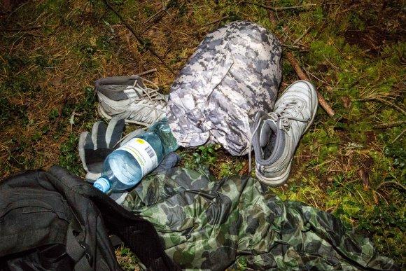 Vidmanto Balkūno / 15min nuotr./Nelegalų sulaikymo operacija Baltarusijos pasienyje