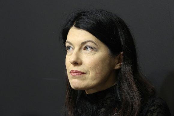 Vidmanto Balkūno / 15min nuotr./Renata Šerelytė Vilniaus knygų mugėje