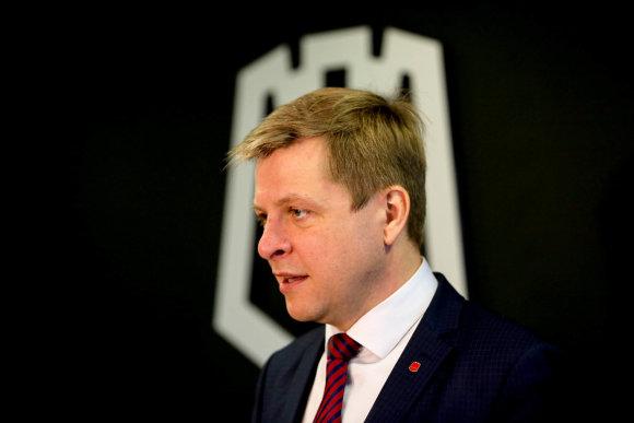 Vidmanto Balkūno / 15min nuotr./Vilniaus miesto meras Remigijus Šimašius