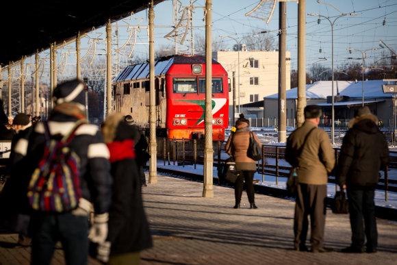 Vidmanto Balkūno / 15min nuotr./ Geležinkelių infrastruktūra