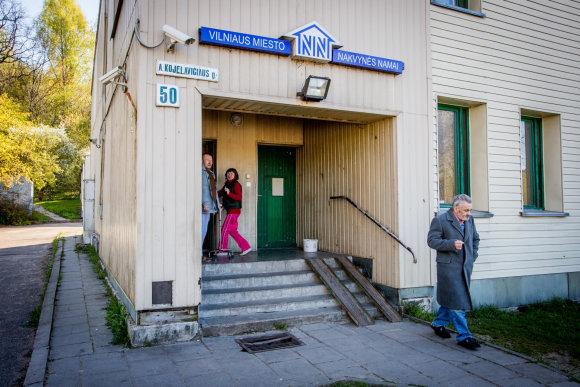 Vidmanto Balkūno / 15min nuotr./Vilniaus miesto nakvynės namai