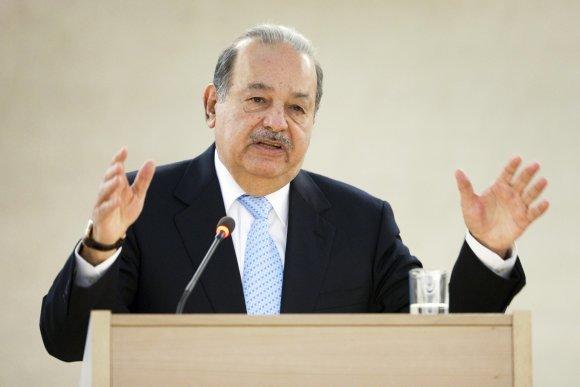 """""""Reuters""""/""""Scanpix"""" nuotr./15. Meksikos milijardierius Carlosas Slimas"""