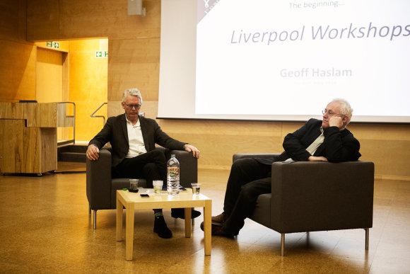 Alexandros Kononchenko ir Ahmado El Mado nuotr./EASA pradininkai: Geoffas Haslamas ir Richardas Murphy