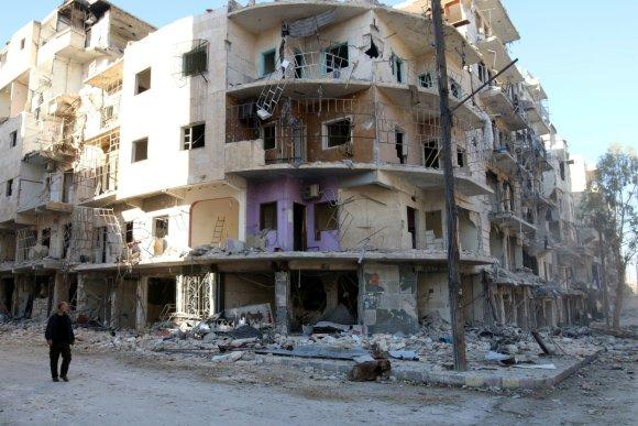 """Reuters""/""Scanpix"" nuotr./Gyvenimas Alepe"