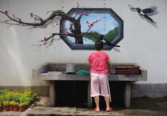 """""""Scanpix""""/""""Sipa USA"""" nuotr./Kinijos miestas Hangdžou ruošiasi G20 susitikimui"""