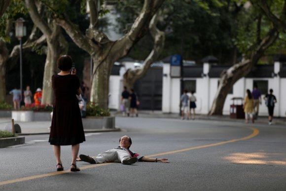 """""""Reuters""""/""""Scanpix"""" nuotr./Kinijos miestas Hangdžou ruošiasi G20 susitikimui"""