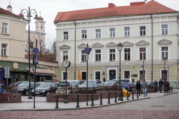 Vilniaus savivaldybės nuotr./Paminklo Dr. Jonui Basanavičiui būsimoji vieta