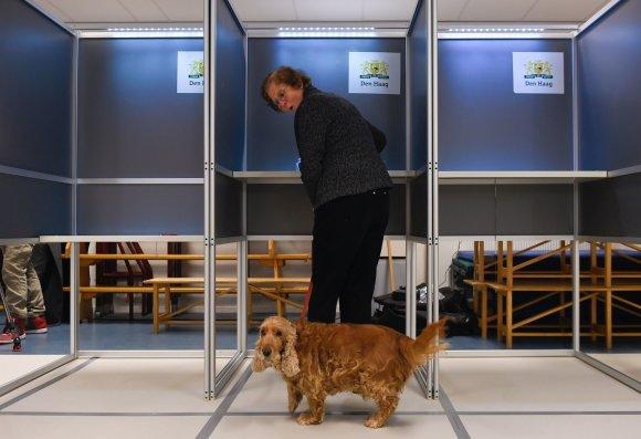 "AFP/""Scanpix"" nuotr./Parlamento rinkimai Nyderlanduose"