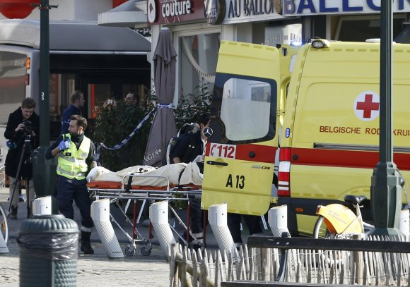 """""""Reuters""""/""""Scanpix"""" nuotr./Policijos ir teroristų susišaudymas Briuselyje"""