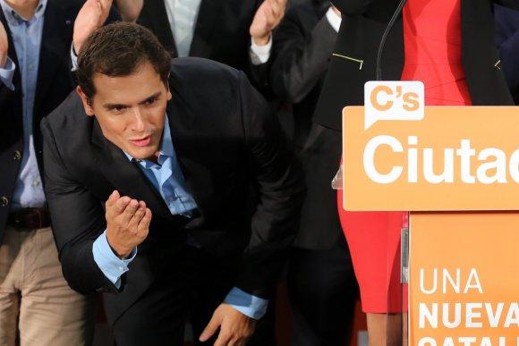 """AFP/""""Scanpix"""" nuotr./Separatistai iškovojo daugumą Katalonijos parlamente"""