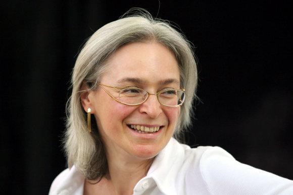 Vida Press nuotr./Ana Politkovskaja