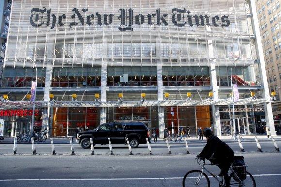 """Reuters""/""Scanpix"" nuotr./""The New York Times"" redakcija"