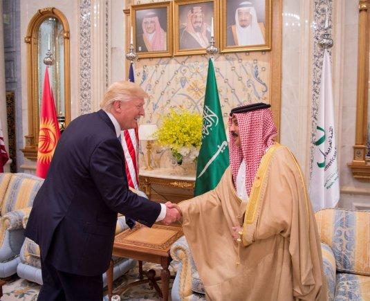"""""""Reuters""""/""""Scanpix"""" nuotr./Donaldo Trumpo kelionė į Saudo Arabiją"""